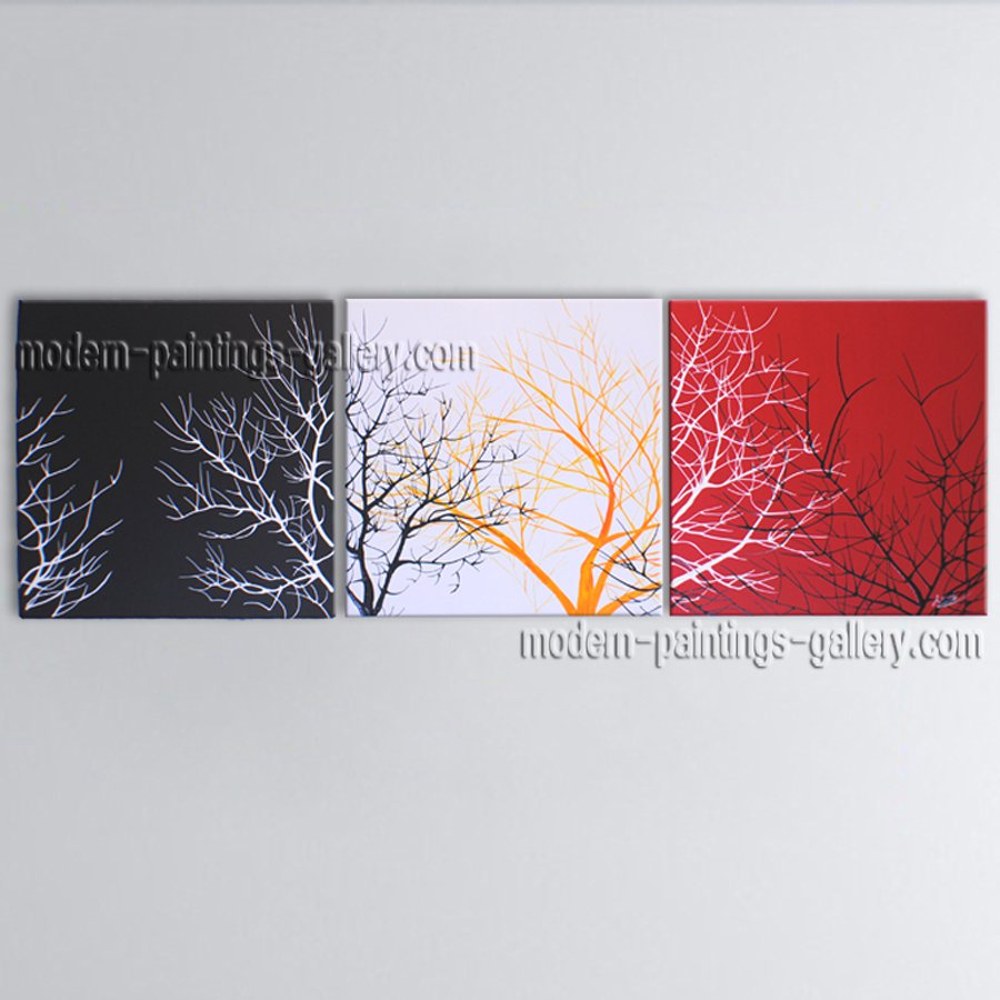 Beautiful Contemporary Wall Art Landscape Painting Tree Artist Artworks