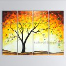 Handmade Large Contemporary Wall Art Landscape Painting Tree Ready To Hang