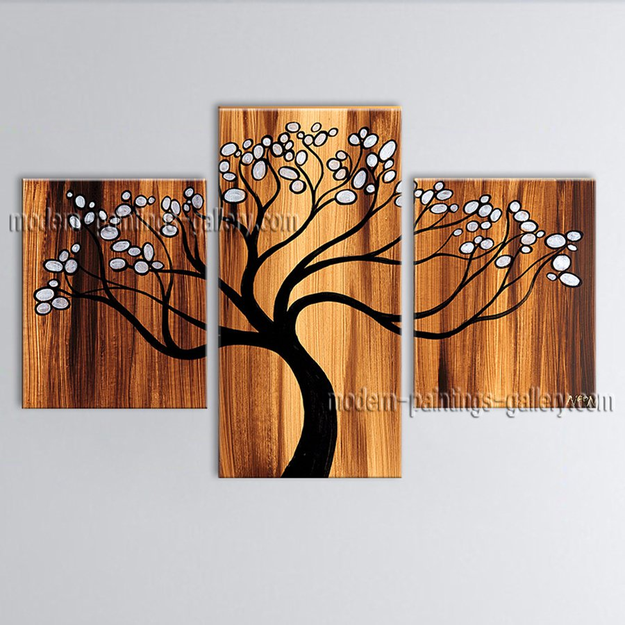 Elegant Contemporary Wall Art Landscape Painting Tree Artist Artworks