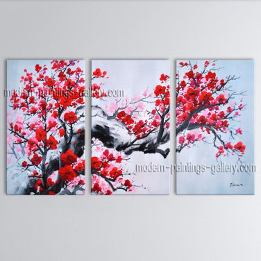 Elegant Contemporary Wall Art Landscape Painting Tree Interior Design