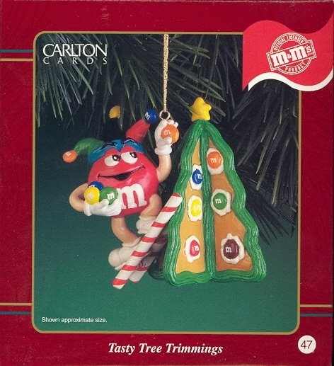 Carlton Ornament ~ Tasty Tree Trimmings 2000 ~ M&Ms