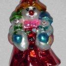 Christopher Radko Glass Ornament ~ Mrs. Iceberg 1999 (mother w/babies & snowwoman) ~ Limited Edition