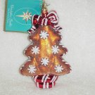 Christopher Radko Glass Ornament ~ Ginger Sweet Street Tree