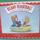 Hallmark Merry Miniatures ~ Sweetheart Cruise 1996
