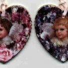 Heavenly Hearts Ornaments ~ set 7 ~ Bradford Editions