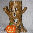 Creepy Hollow ~ Haunted Lighted Tree ~ Retired