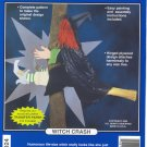 Witch Crash ~ Woodcraft Pattern ~ 40 in tall