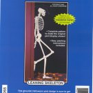 Leaning Skeleton ~ Woodcraft Pattern ~ 69 in tall