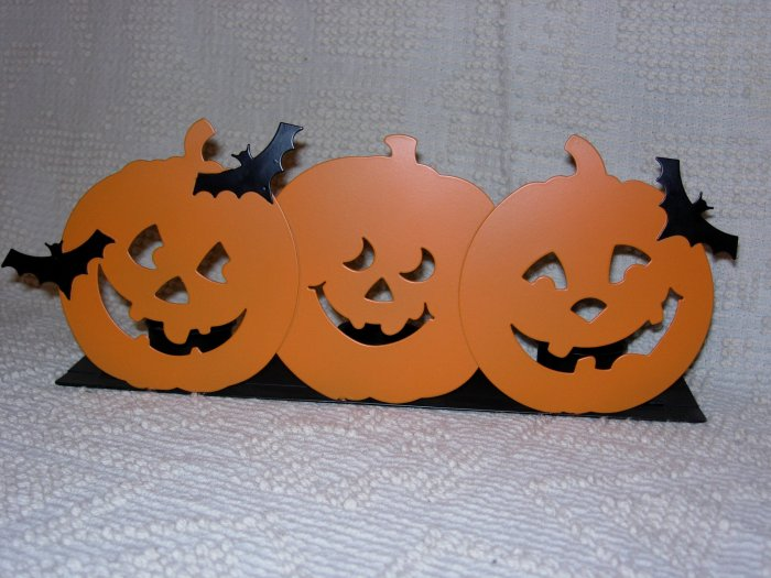 Hallmark Pumpkin Candle Holder