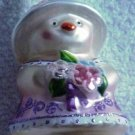 Hallmark Spring Glass Ornament ~ Spring Chick 1999