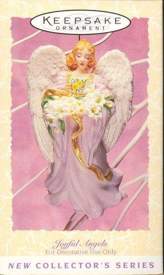 Hallmark Spring Ornament ~ Joyful Angels 1996