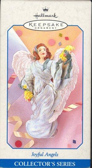 Hallmark Spring Ornament ~ Joyful Angels 1998