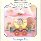 Hallmark Spring Ornament ~ Passenger Car 1998 ~ Cottontail Express Series
