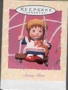 Hallmark Spring Ornament ~ Swing-Time 1997