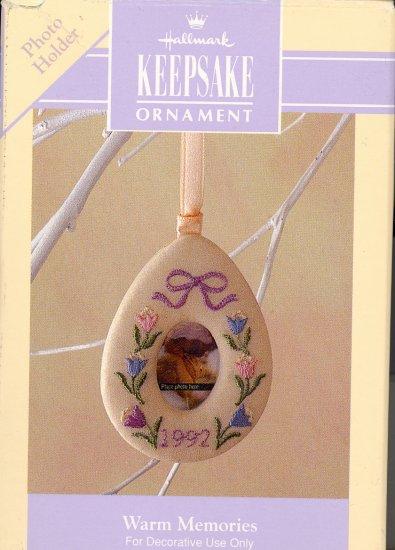 Hallmark Spring Ornament ~ Warm Memories 1992