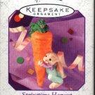 Hallmark Spring Ornament ~  Springtime Harvest 1999 (Bunny)