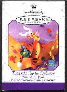 Hallmark Spring Ornament ~ Spring Tiggerific Easter Delivery 1999 ~ Winnie the Pooh