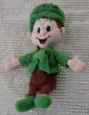 Lucky Charm Beanie Baby (Big G Breakfast Babies) Cute for St. Patrick's