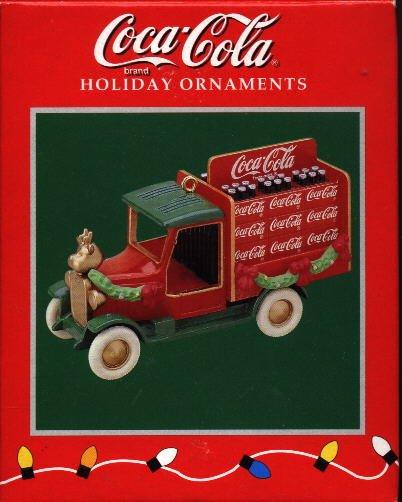 Enesco Ornament ~ Coca-Cola Truck 1996
