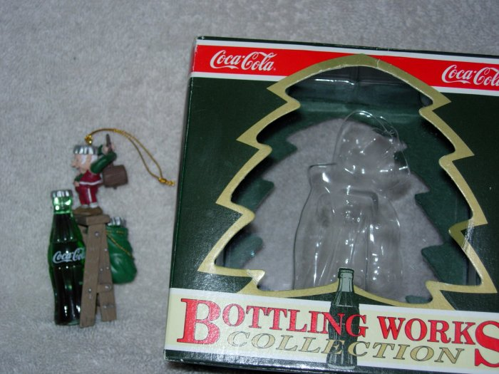 Coca-Cola Ornament ~ Tops on Refreshment 1995