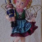 Girl with Nutcracker Ornament