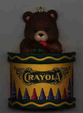 Crayola Crayon Ornament 1992