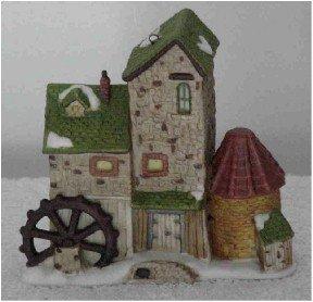 Dept 56 Ornament ~ Dickens Village Mill 1997 ~ Dickens Village