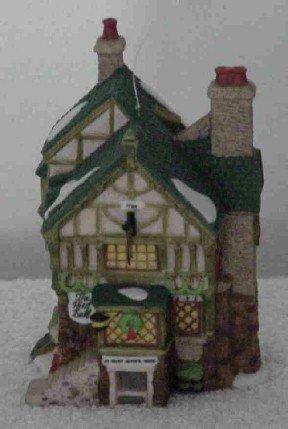Dept 56 Ornament ~ The Pied Bull Inn 1996 ~ Dickens Village