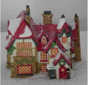Dept 56 Ornament ~ Santas Workshop 1997 ~ North Pole Village