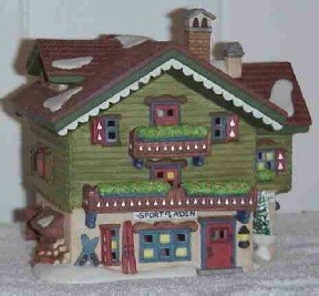Dept 56 ~ Sport Laden ~ Alpine Village ~ Retired