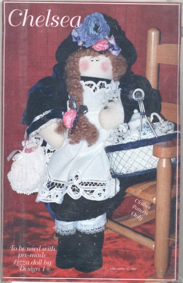 Chelsea Doll Clothes Pattern ~ 1997