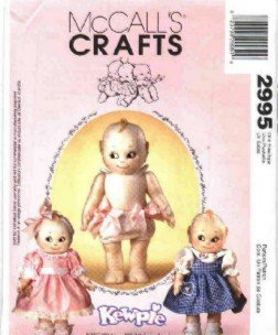 Kewpie Doll & Clothes Sewing Pattern ~ McCall's 2995