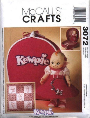 Kewpie Doll Clothes & Accessories Pattern  McCall's 3072