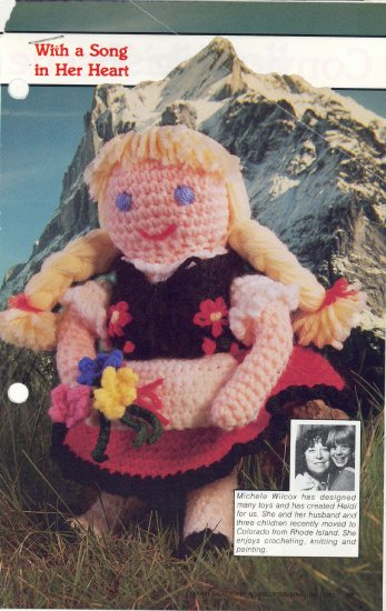Heidi Doll Crochet Pattern ~ Annies Attic