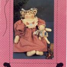 Lucy N Huggy Bear Pattern ~ Doll & Teddy Bear 1989