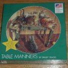 Table Manners ( Cats ) ~ 500+ piece Puzzle ~ Great American Puzzle Factory