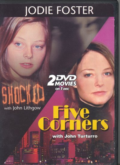 Shocked ~ Five Corners ~ DVD ~ Jodie Foster & John Lithgow