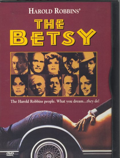 The Betsy ~ DVD ~ 1978 ~ Robert Duvall, Tommy Lee Jones, Katharine Ross & Lord Olivier