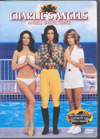 Charlies Angels ~ Angels Under Cover ~ DVD ~ 1976 ~ Farrah Fawcett, Kate Jackson & Jaclyn Smith