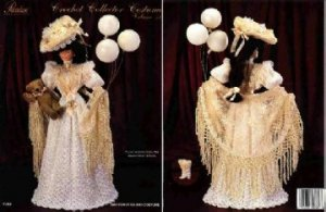 Barbie Crochet Pattern ~ 1907 Coney Island Costume