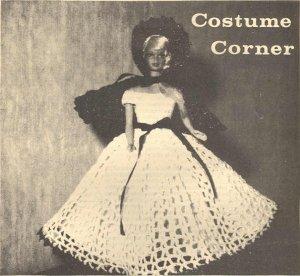 Barbie Crochet Pattern ~ Little Red Riding Hood 1972
