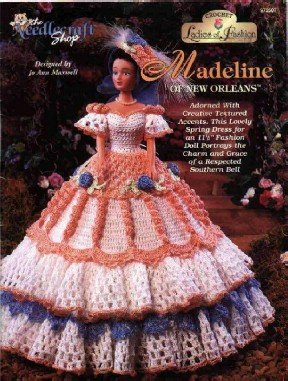 Barbie Crochet Pattern ~ Madeline of New Orleans