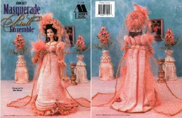Barbie Crochet Pattern ~ Masquerade Ball Ensemble