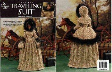 Barbie Crochet Pattern ~ Traveling Suit ~ Annie's Attic