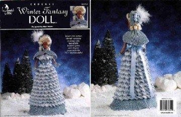 Barbie Crochet Pattern ~ Winter Fantasy Doll ~ Annie's Attic