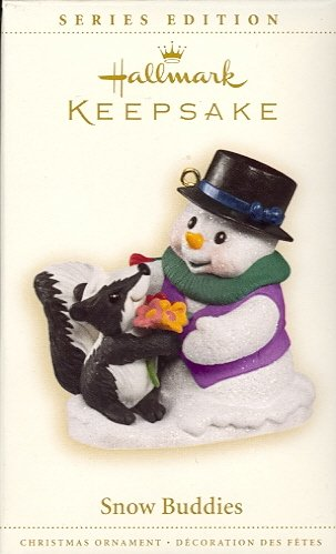 Hallmark Ornament ~ Snow Buddies 2006 ~ Snow Buddies series