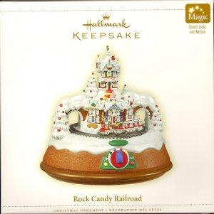 Hallmark Magic Ornament ~ Rock Candy Railroad 2006