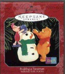 Hallmark ~ Building a Snowman 1998 ~ Winnie the Pooh