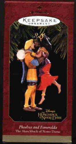 Hallmark Ornament ~ Phoebus & Esmeralda 1997 ~ Hunchback of Notre Dame