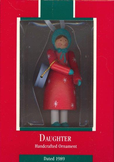Hallmark Ornament ~ Daughter 1989